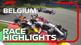 2019 Belgian Grand Prix: Race Highlights