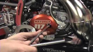 1. Nihilo Concepts 2013 KTM 50 Clutch Cover