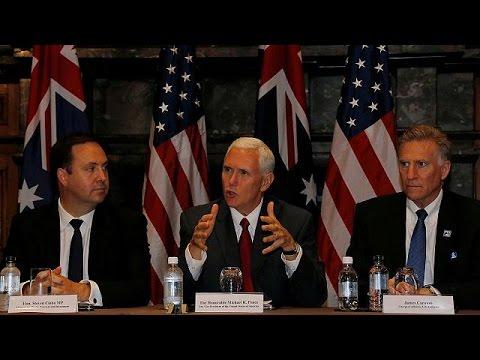 Οι ΗΠΑ θα τηρήσουν τη συμφωνία για το μεταναστευτικό δεσμεύτηκε ο Μάικ Πενς