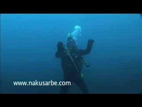 Tai-chi bajo el agua