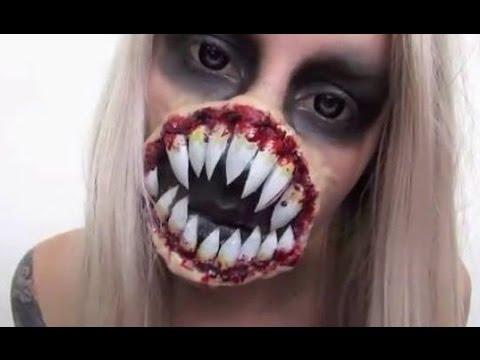 Alien Makeup Tutorial ♡ Xenomorph Inspired