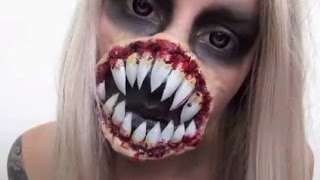 Video Alien Halloween Makeup Tutorial | Xenomorph Inspired MP3, 3GP, MP4, WEBM, AVI, FLV Juni 2018
