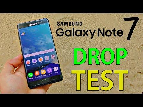 Note 7 drop test