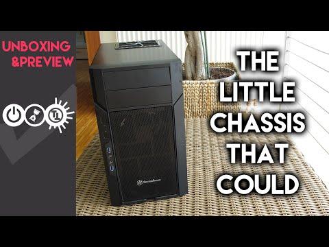 SilverStone Kublai KL06B-W High Quality Micro-ATX Tower Case (Black)