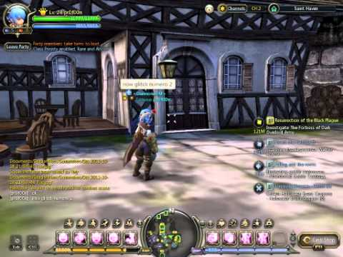 Dragonnest SEA - Saint haven - Ultimate Glitch/bug