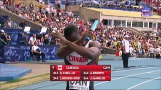 Video Finales relevos 4x100m. femenino y masculino. Atletismo Cto. del Mundo Moscú 2013 MP3, 3GP, MP4, WEBM, AVI, FLV April 2019