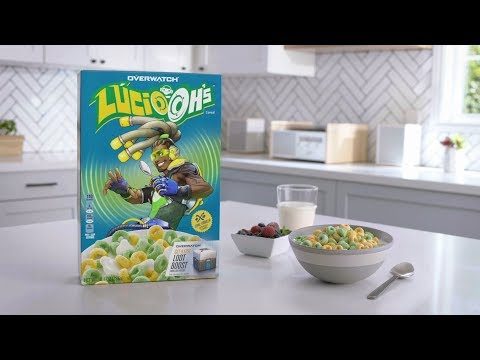 Overwatch Lúcio-oh's | Kellogg's Cereal