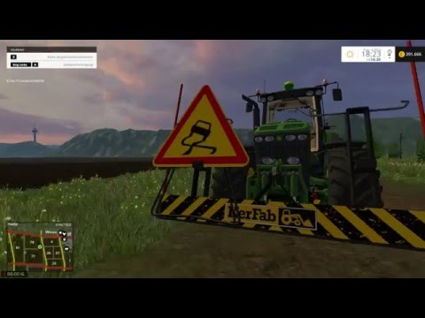 Sweeper RABAUD and Sign Slippery v2.0