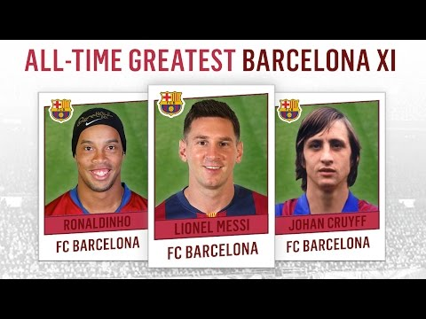 messi! - SUBSCRIBE for more ALL-TIME XIs: http://bit.ly/fdsubscribe ▻ WATCH our ALL-TIME XIs playlist: http://bit.ly/XIsplaylist Ahead of El Clásico, Football Daily presents the All-Time Greatest...