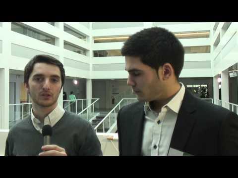 Emmanuel ROY et Mathieu DARSE, anciens étudiants SRC Bordeaux