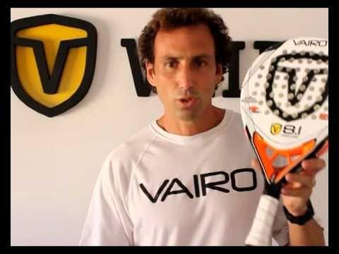 Jugadores Vairo presentan sus palas de padel de 2011