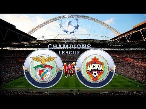 Benfica vs CSKA Moscú 1 - 2 All goals & Highlights 12/09/2017