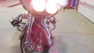 6. 2009 HARLEY ROAD GLIDE CVO FOR PARTS