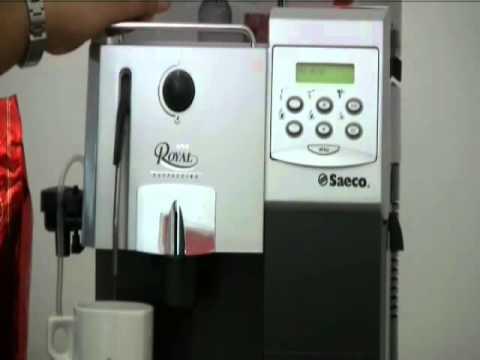 Maintenance - Saeco Royal Cappuccino displays Ventilate