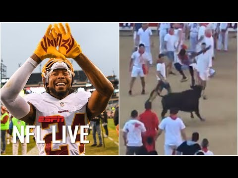 Video: Should Redskins be OK with Josh Norman jumping over a bull? | NFL Live