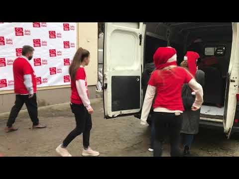 Wideo1: Finał Szlachetnej Paczki w Lesznie