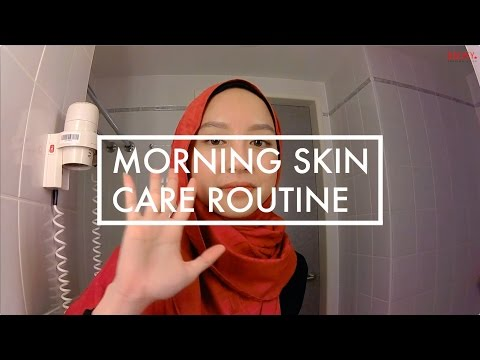 Morning skincare routine - updated version (bahasa Indonesia)