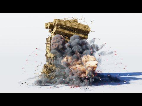 Realistic Minecraft TNT Explosions (Physics Simulation)
