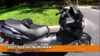 4. Used 2007 Suzuki Burgman 650 for sale