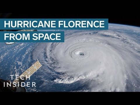 NASA Footage Shows The Nightmare Hurricane Florence_Best spacecraft videos of the week