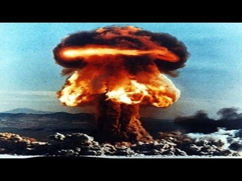 Колоссальная мощь и красота ядерного взрыва