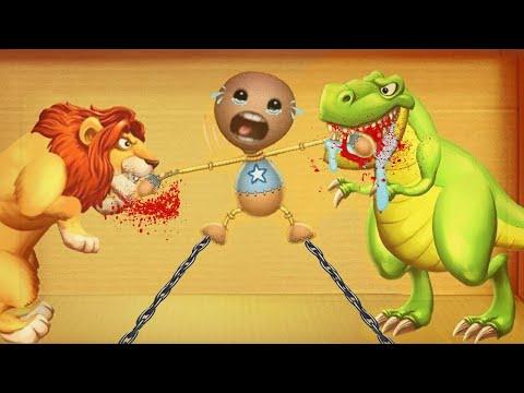 Kick The Buddy New Update 2020 | Lion King vs Dinosaurs T-rex