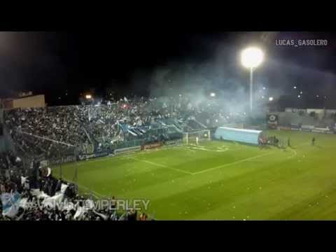 Video - Temperley vs Platense | Recibimiento | #VolvióTEMPERLEY (VER EN HD) - Los Inmortales - Temperley - Argentina