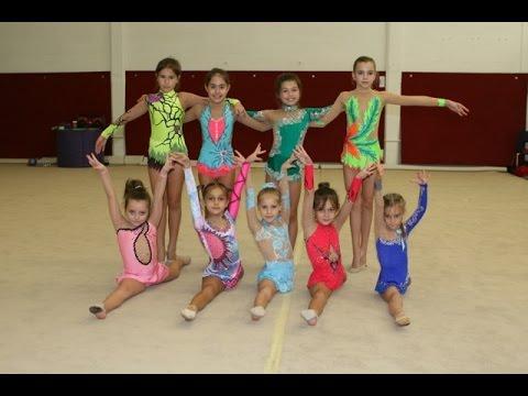 Rhythmic Gymnastics - 2015 Competition Season Highlights (видео)