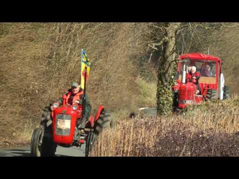 2016 National Vintage Tractor Road Run   Devon - Thời lượng: 30 phút.