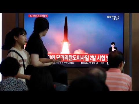 Nordkorea: Offenbar erneut zwei Raketen abgefeuert