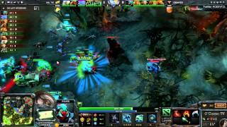The International 3 - Navi vs Orange - Game 3 - 1/4 de Finale Winner Bracket