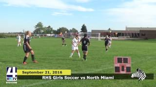 RHS Girls Soccer vs North Miami Warriors