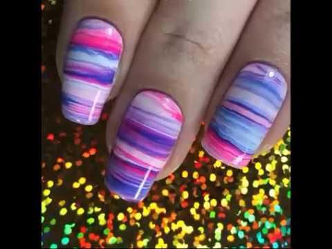 Uñas decoradas - Nail Tutorials by Chelsea  • Top 10 Nail Art Design Ideas  New Nail Art - UÑAS DECORADAS #21/8