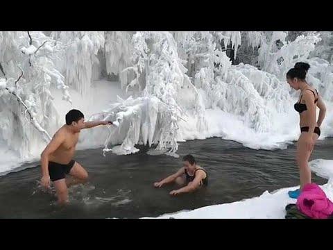 Das kälteste Dorf der Welt liegt im Nordosten Sibirie ...
