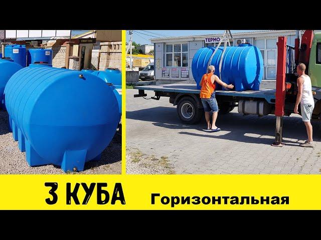 Как выбрать бак для воды из пластика