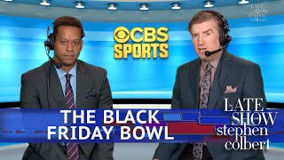 CBS Sports Covers The Black Friday Bowl