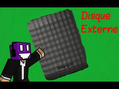 UNBOXING - Disque Dur Externe MAXTOR