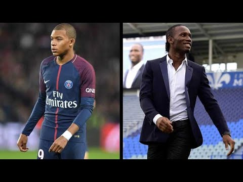 Drogba giving autograph to Mbappe I Ballon d'Or 2019