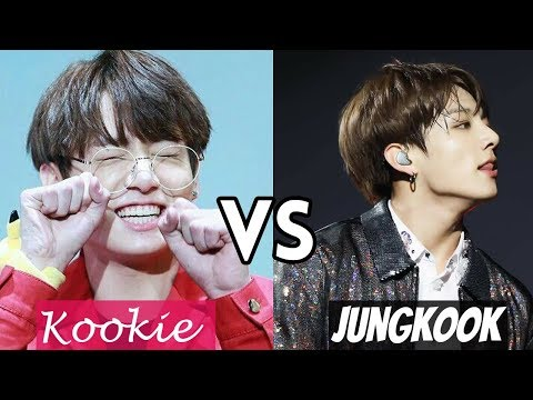 KOOKIE vs JUNGKOOK - Two Sides of Jeon Jungkook