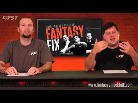 2015 Fantasy Football: Week 10 Fantasy Fix thumbnail