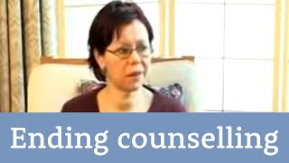 Ending counselling