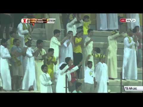 الوصل 2 × الشعب 0 - كأس الخليج العربي - 28/08/2015