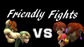 Friendlies Session with MukFather. Bowser(main)/Link vs Roy/CF/Ganon(main)