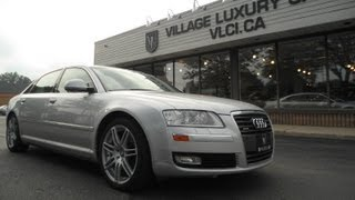 2008 Audi A8L In Review - Village Luxury Cars Toronto