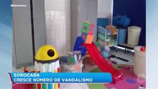 Casos de vandalismo aumentam em Sorocaba