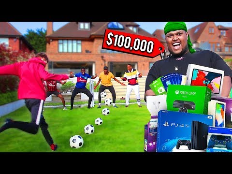 Score A Goal In a Football Competition & I'll Buy You ANYTHING - Challenge