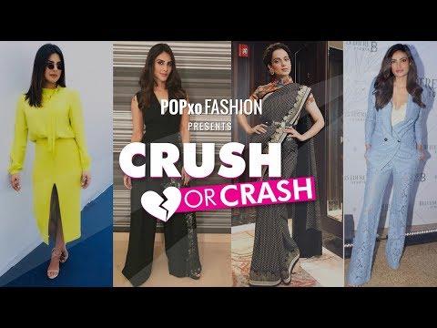 Crush Or Crash - Favourite Instagram Celebrities - Episode 15 - POPxo Fashion