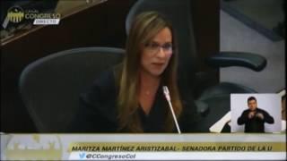 Hoy en plenaria de Senado, expreso mi solidaridad con las familias de Mocoa, Putumayo y dejo dos con