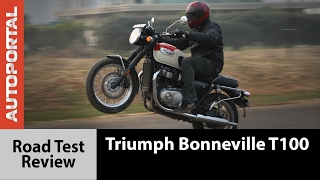 9. Triumph Bonneville T100 - Test Ride Review - Autoportal
