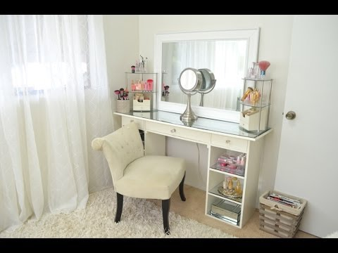 collection - Vanity Tour: Makeup Collection, Storage and Organization. Back in 2012, I started decluttering my belongings and makeup collection. I can't believe it's alre...